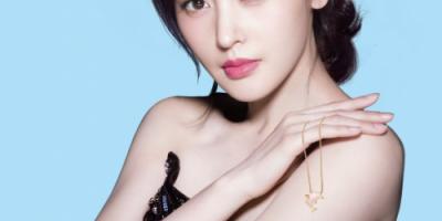 明星张天爱x荟萃楼珠宝,联名设计款「天生我爱」系列全国首发!